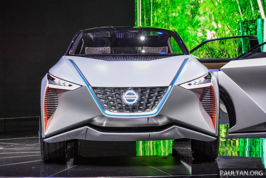Полноприводный кроссовер Nissan IMx дебютировал в Токио 1