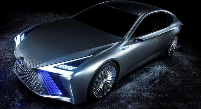 Автосалон в Токио: Lexus представил свою новинку 3