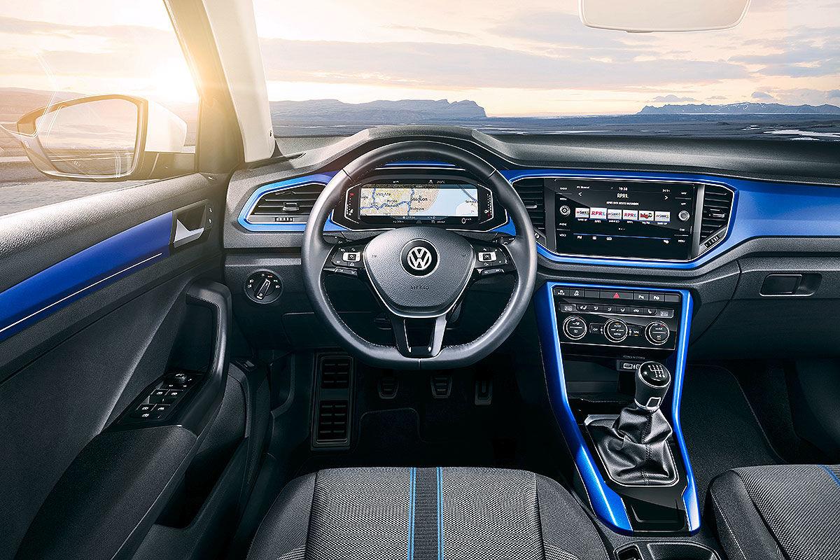 «Младший брат Тигуана»: тест-драйв Volkswagen T-Roc 8