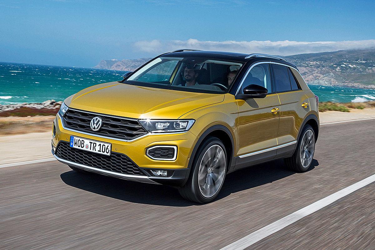«Младший брат Тигуана»: тест-драйв Volkswagen T-Roc 2