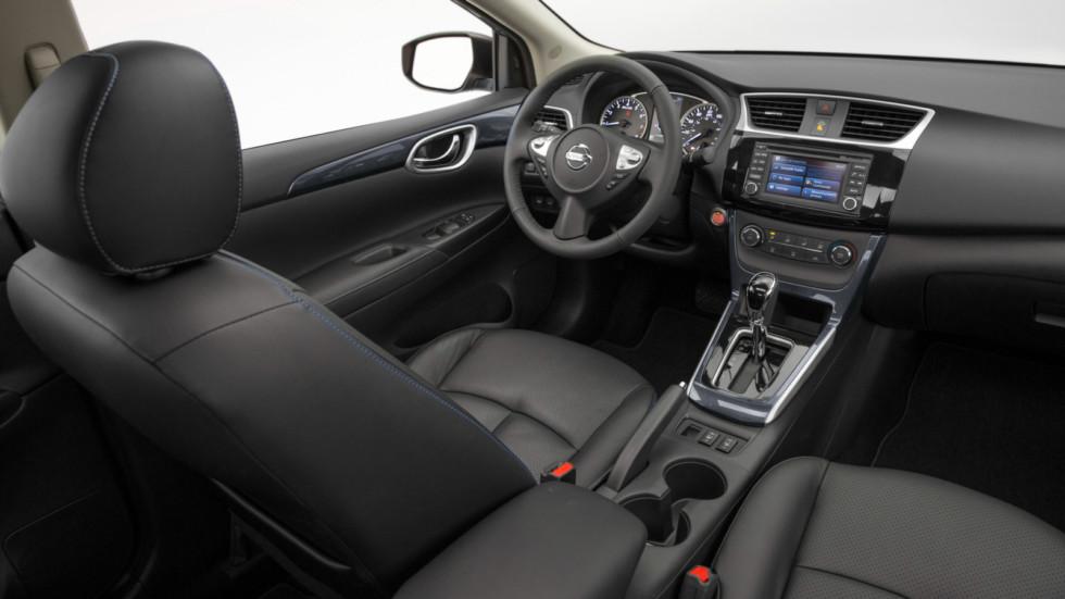 Седан Nissan Sentra «освежился» 2
