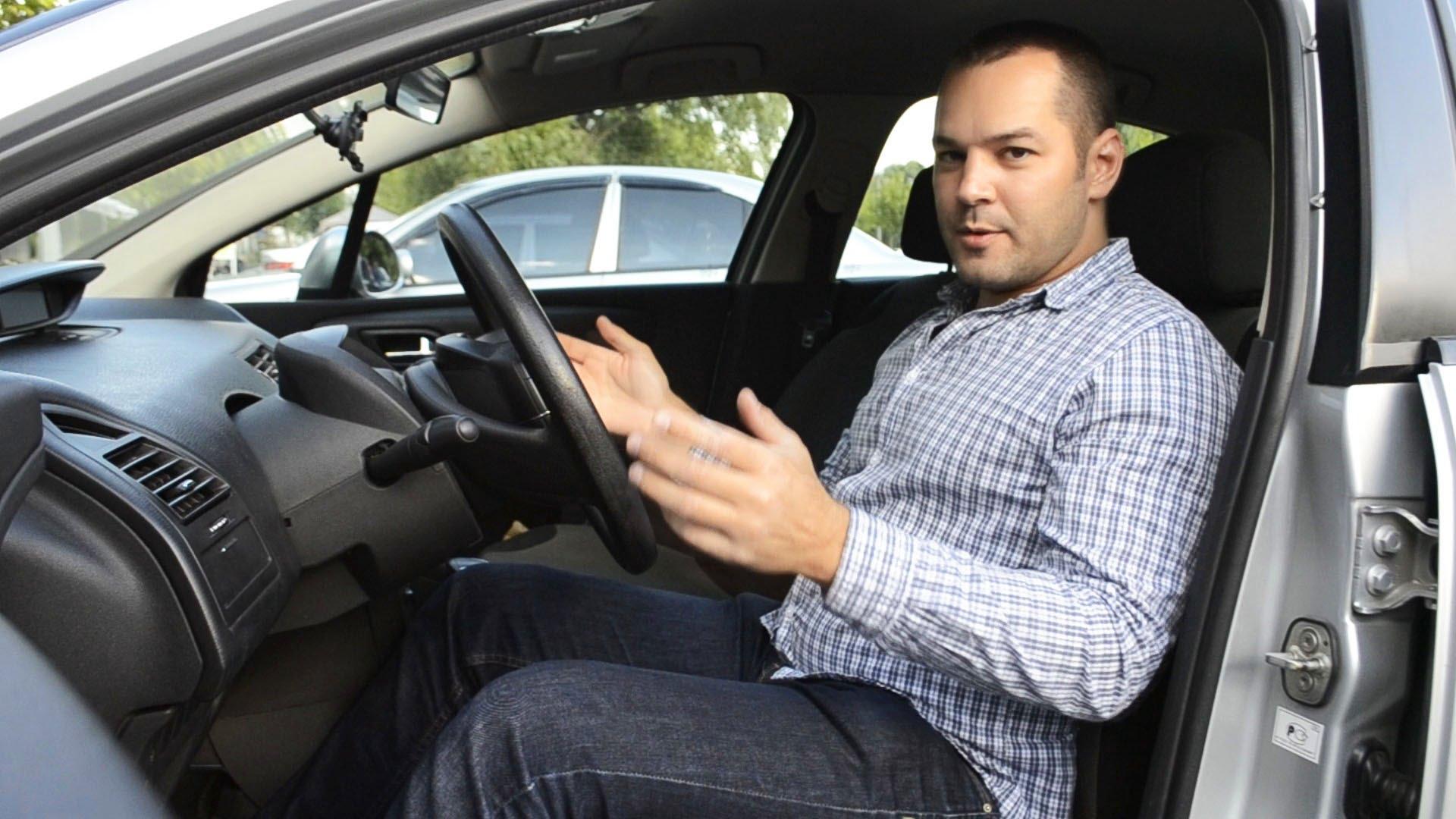 Как правильно настроить водительское сидение 2
