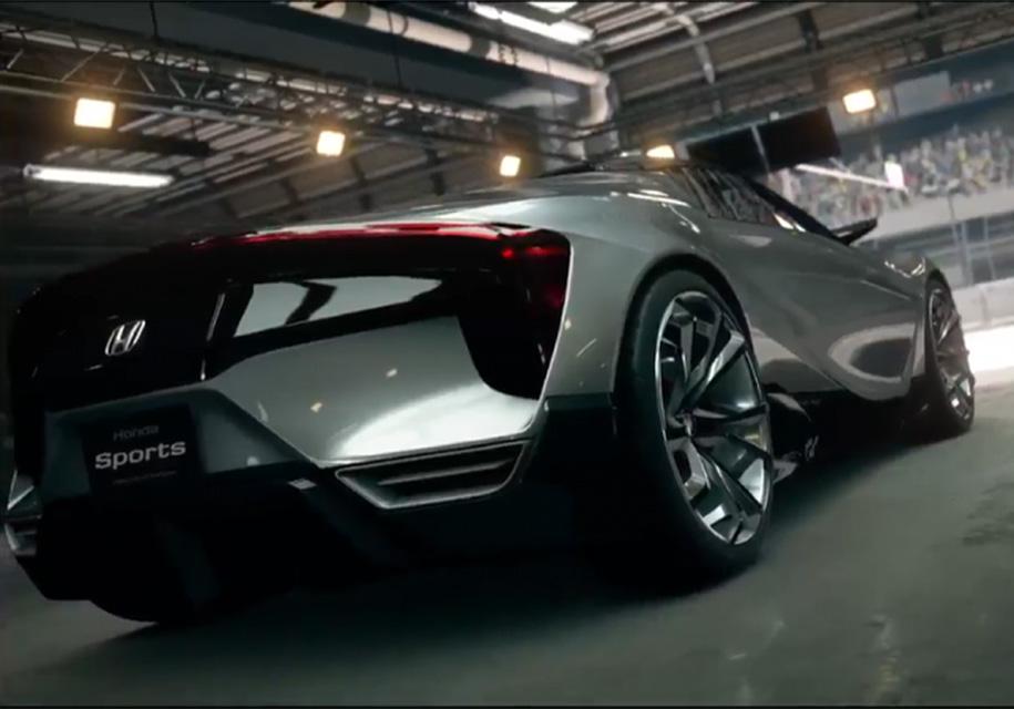 Загадочный концепт Honda оказался лишь виртуальным прототипом 2