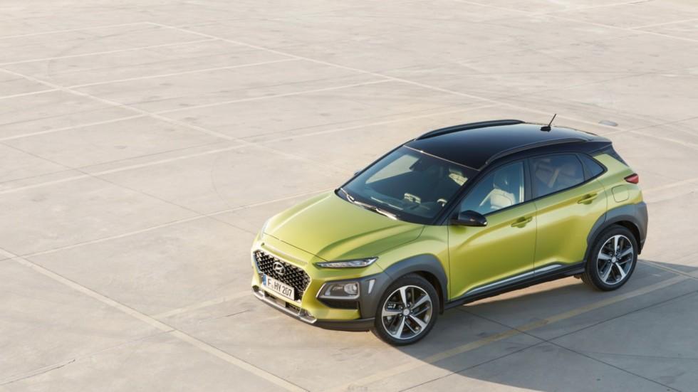 Hyundai представит электрическую «Кону» 1