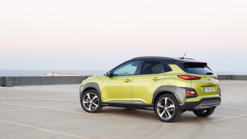 Hyundai представит электрическую «Кону» 2