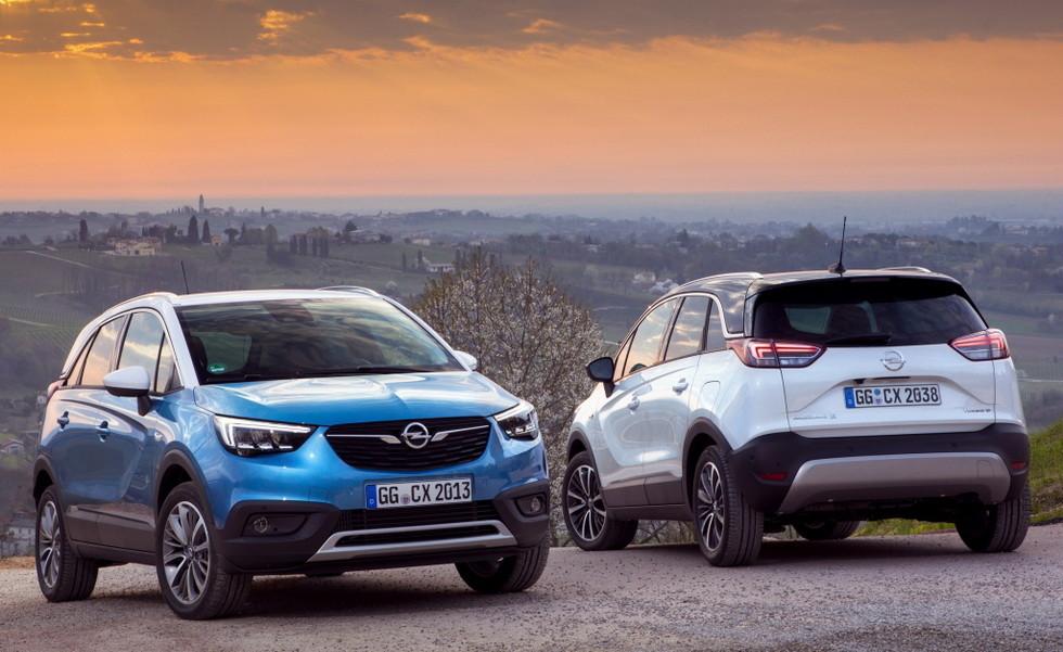 Opel представил кроссовер на газу 1