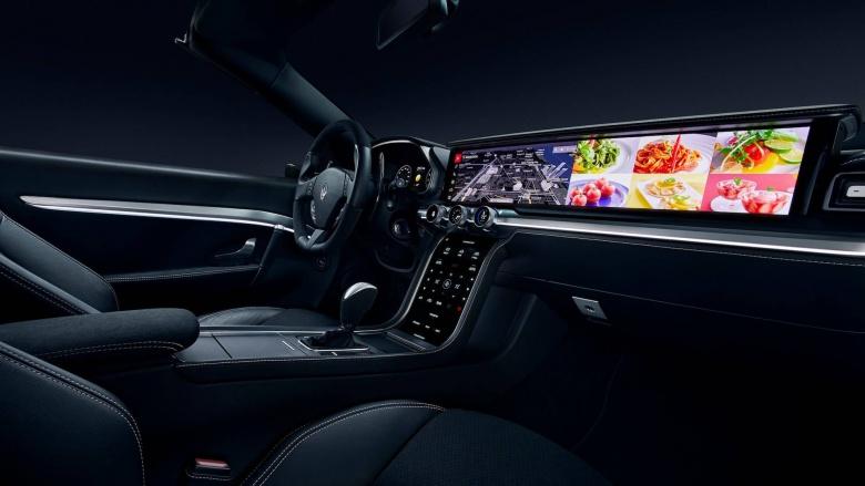 Harman/Samsung представили огромный дисплей для приборной панели 1