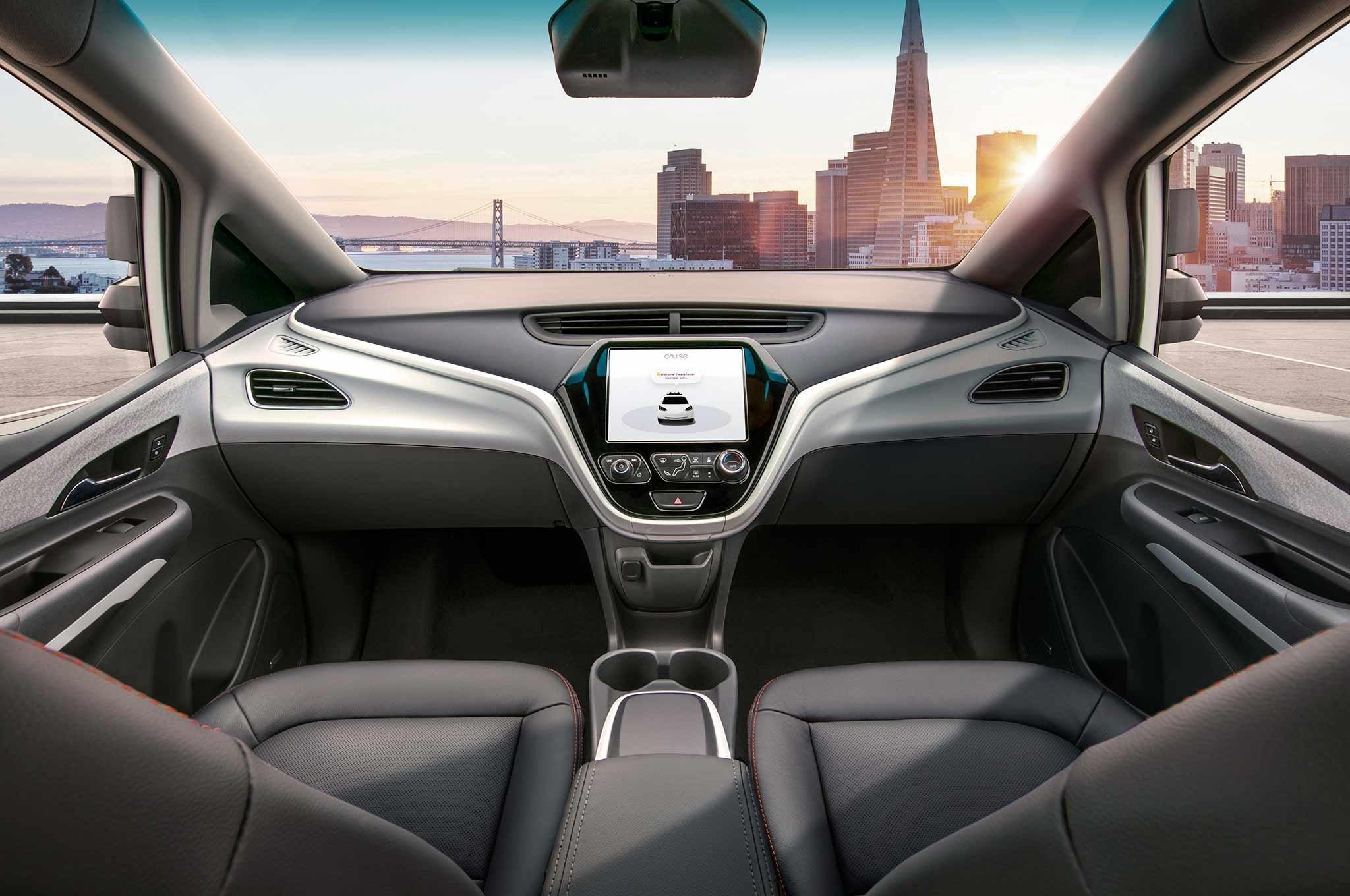 General Motors выпустил автомобиль «без руля и педалей» 1