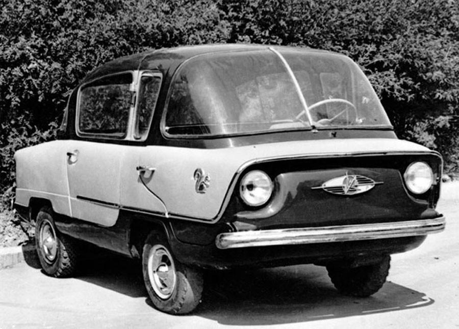 Каким был прототип первого «Запорожца» 4