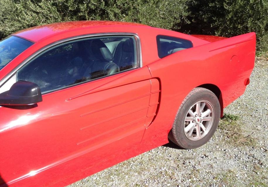 Самый некрасивый Ford Mustang выставили на торги 2