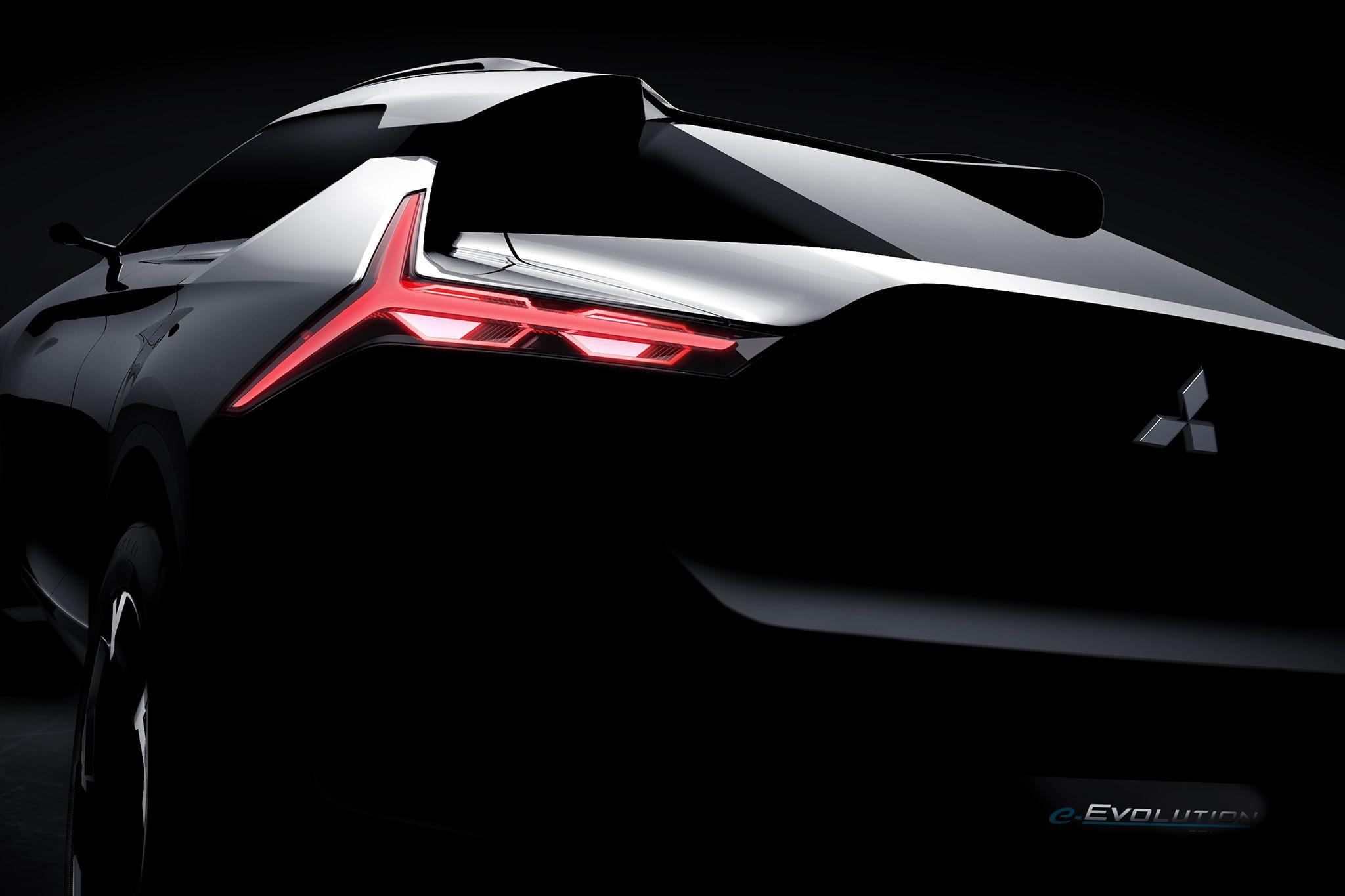 Mitsubishi e-Volution оказался кроссовером 2