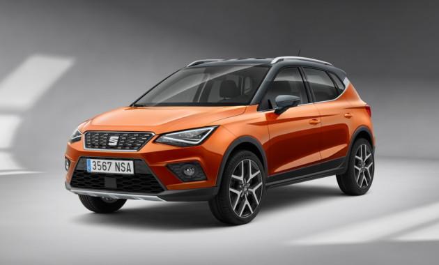 Объявлена «европейская» стоимость нового Seat Arona 2