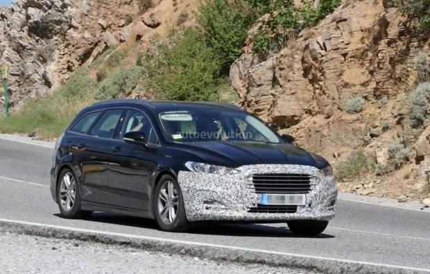 Обновленный Ford Mondeo замечен на тестах 1