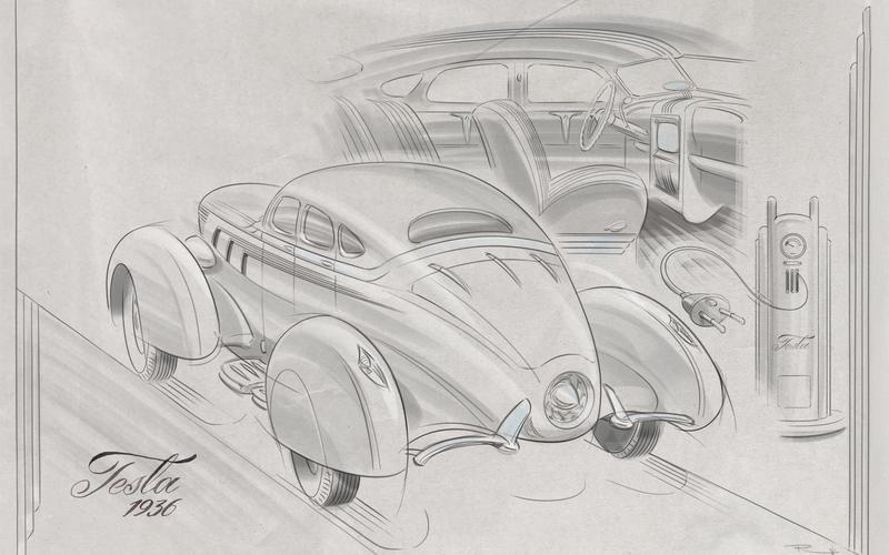 Как бы выглядел Porsche Cayenne, если бы появился 45 лет назад 9