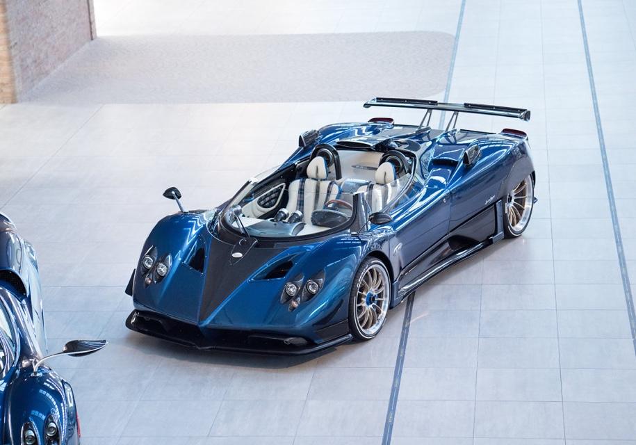 Уникальная «баркетта» Pagani стала самым дорогим автомобилем 1