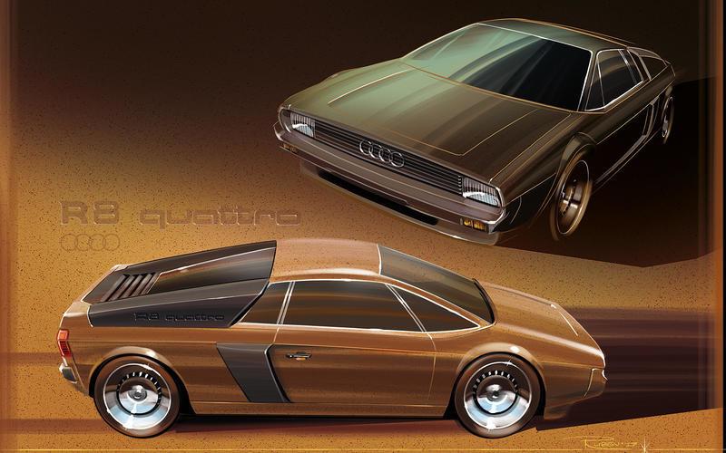 Как бы выглядел Porsche Cayenne, если бы появился 45 лет назад 11