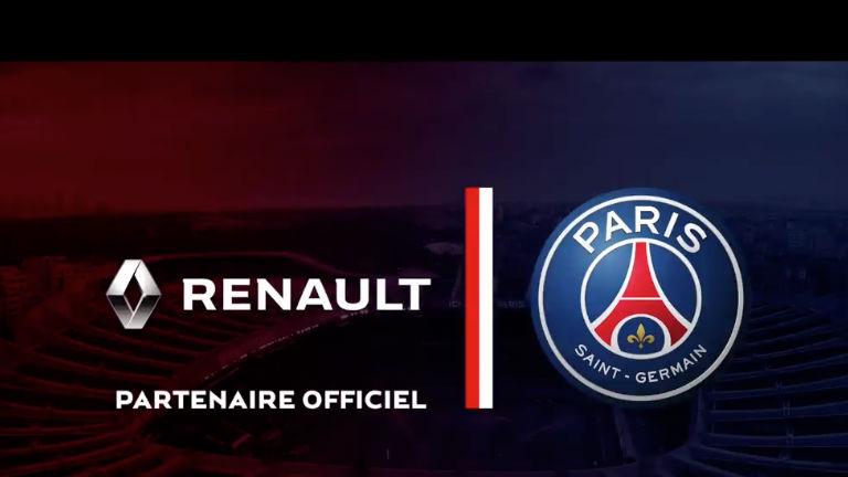 Компания Renault стала партнером футбольного «ПСЖ» 1