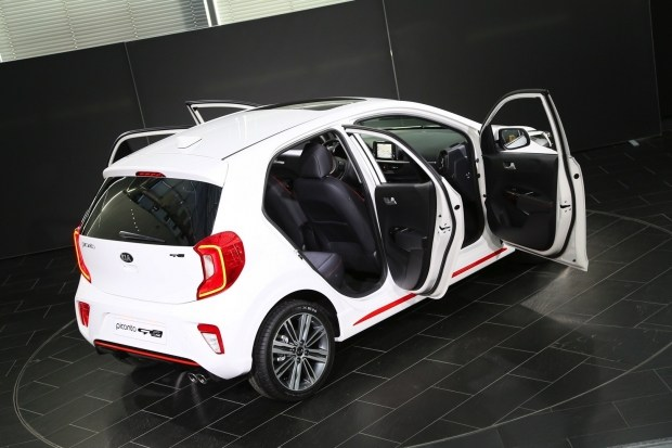 KIA представит компактхетч Piccanro GT-Line с литровым турбомотором 2