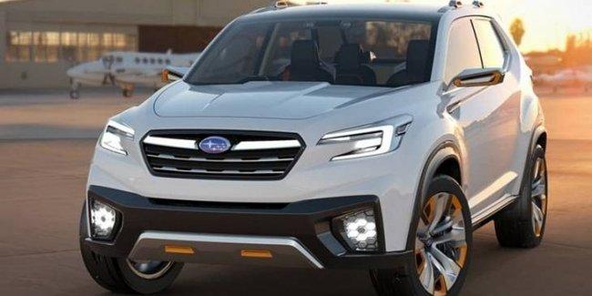 Компания Subaru существенно обновит модельный ряд 1