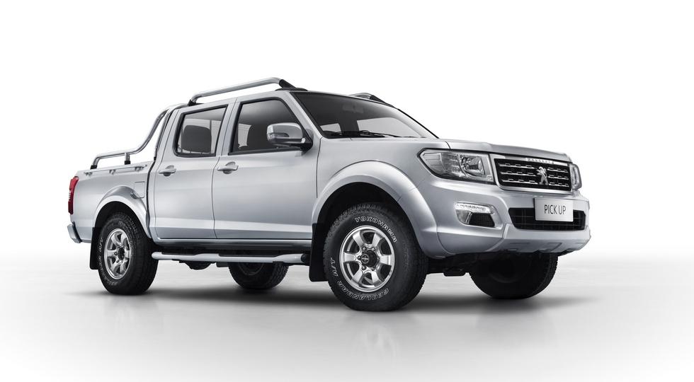 Peugeot будет строить новый пикап вместе с китайцами 1