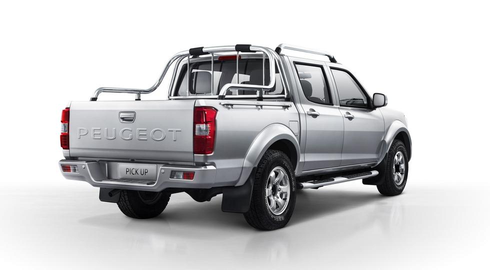 Peugeot будет строить новый пикап вместе с китайцами 2