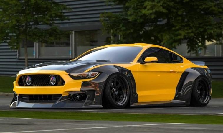 Ford Mustang значительно «растолстел» 1