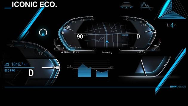 Компания BMW продемонстрировала дизайн новой операционной системы 3