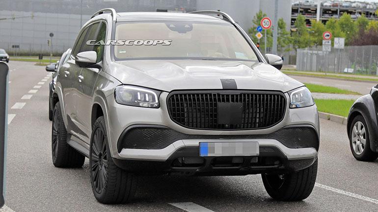 Mercedes-Maybach GLS замечен во время тестов 1
