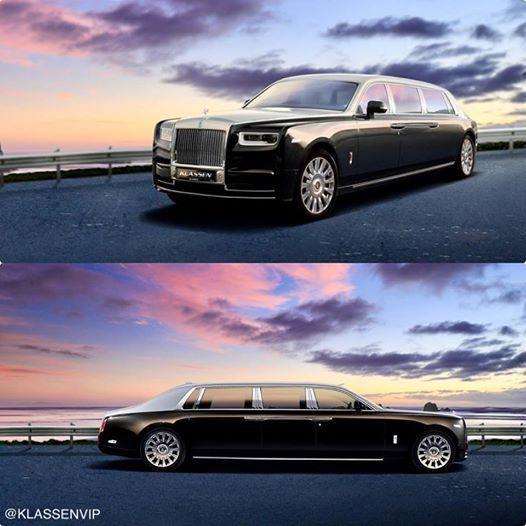 Rolls-Royce Phantom превратился в бронированный лимузин 1