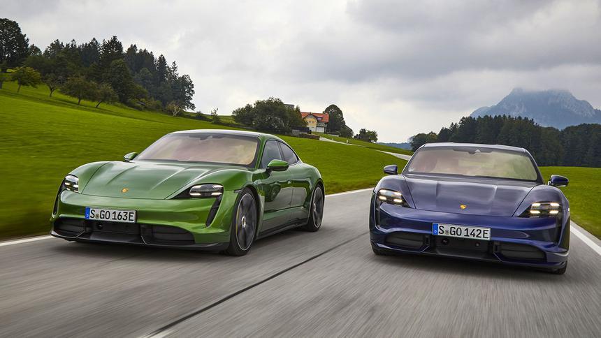 Эксперты выставили позорный рейтинг Porsche Taycan 1