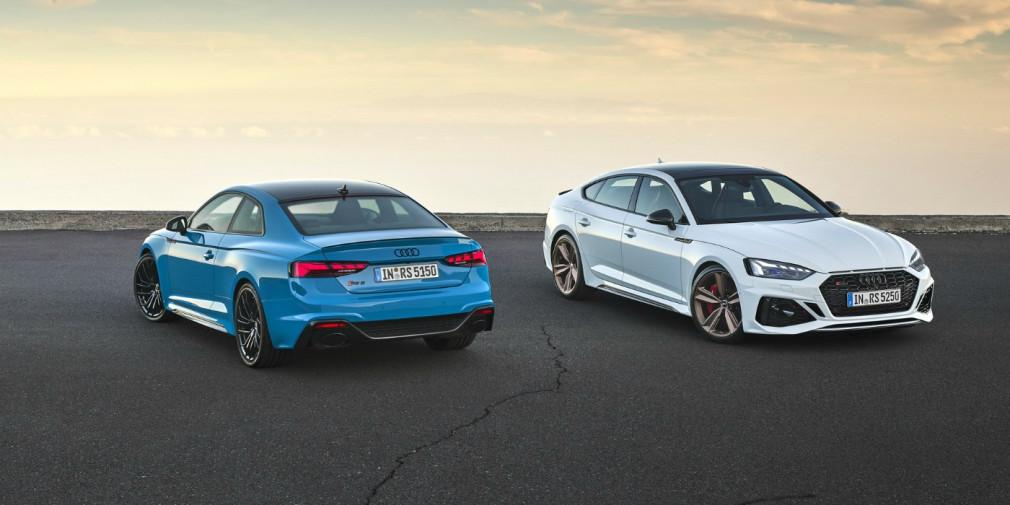 Audi обновила «заряженное» купе и лифтбек RS5 1
