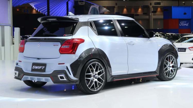 Suzuki Swift получил спортивную версию 1