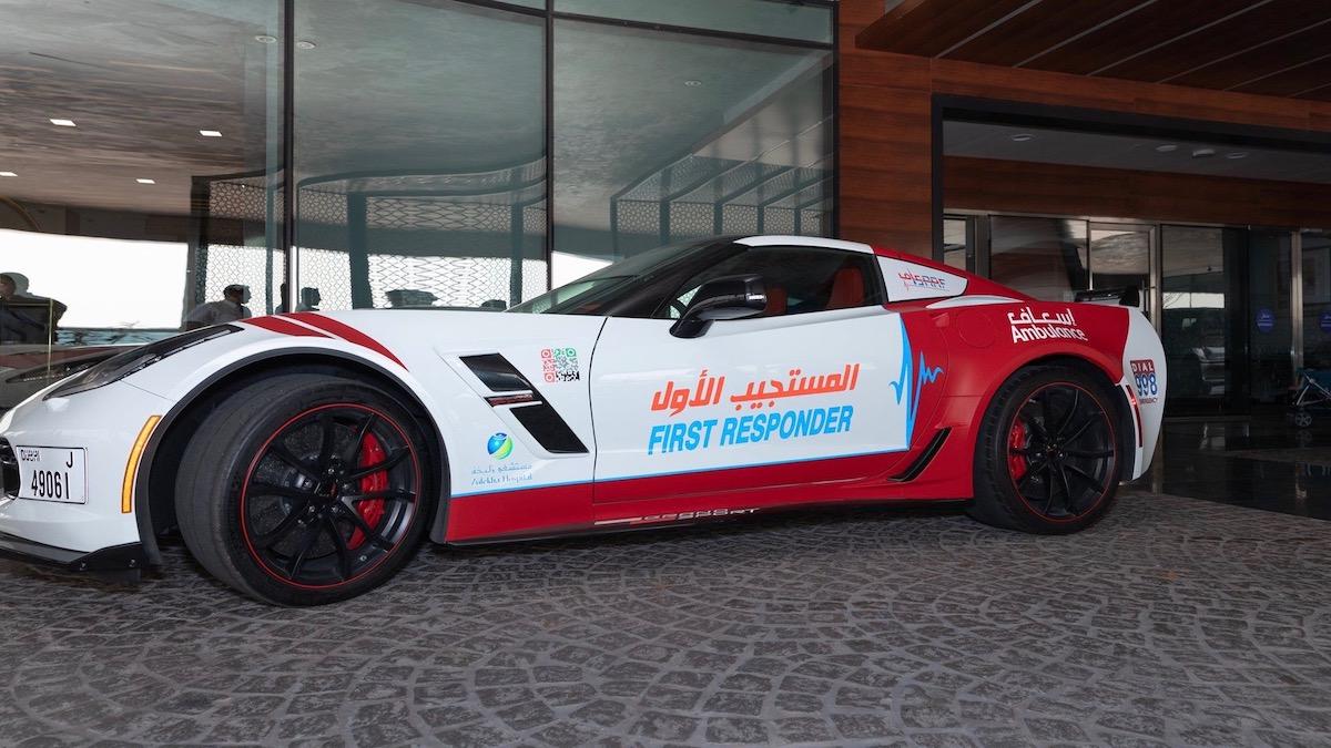 В ОАЭ суперкары стали машинами скорой помощи 1