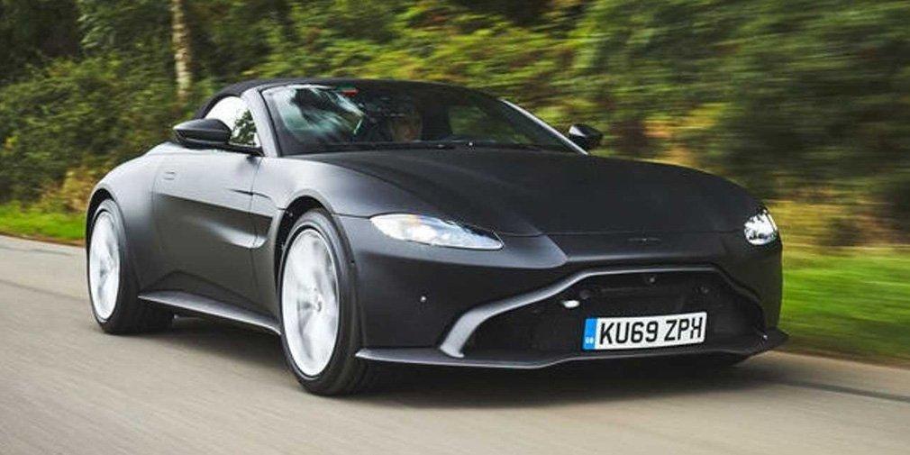 Aston Martin Vantage остался без крыши 1