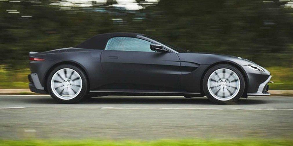 Aston Martin Vantage остался без крыши 2