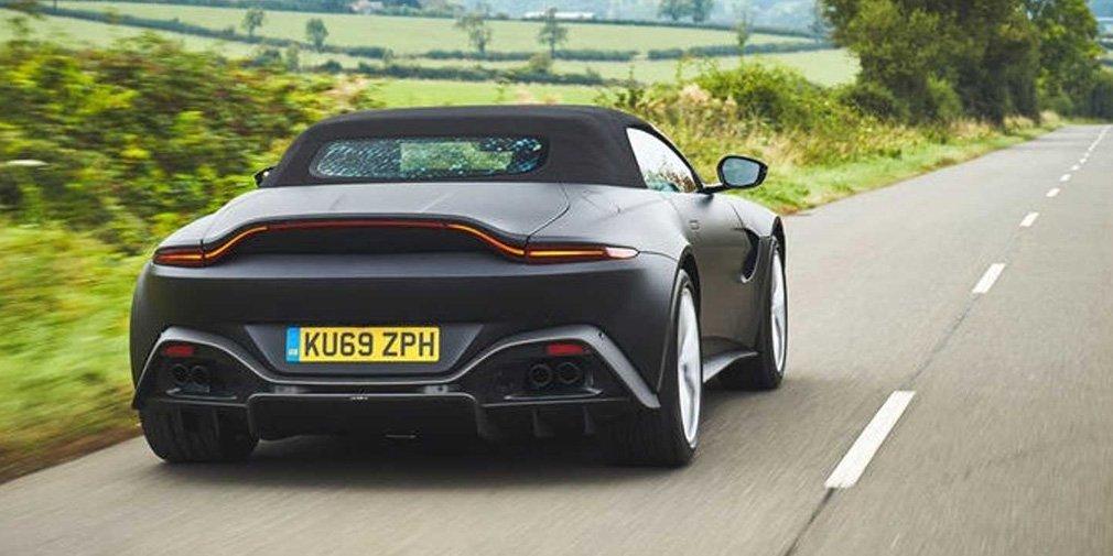 Aston Martin Vantage остался без крыши 3