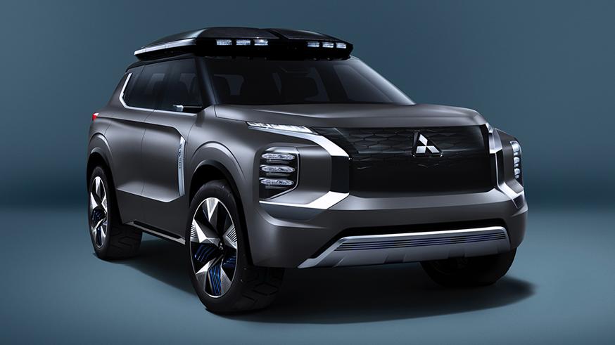 Новый паркетник Mitsubishi получит газотурбинный мотор 1