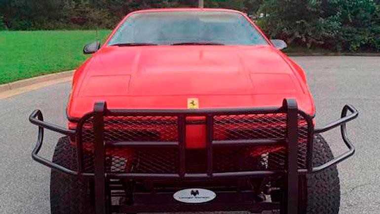 Из Pontiac Fiero сделали внедорожник 1