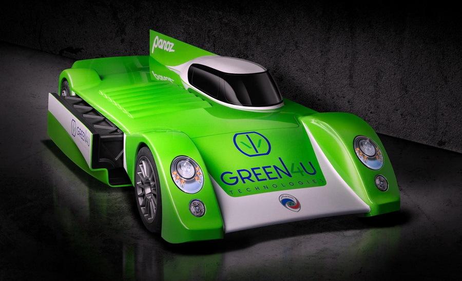 В США будут строить электромобили под названием «Panoz» 1