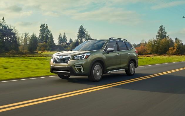 В Нью-Йорке дебютировал новый Subaru Forester 1