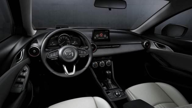 Mazda показала рестайлинговый кроссовер CX-3 3