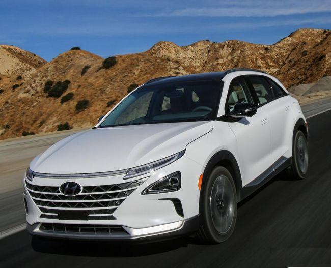Водородный кроссовер Hyundai NEXO поступил в продажу 1