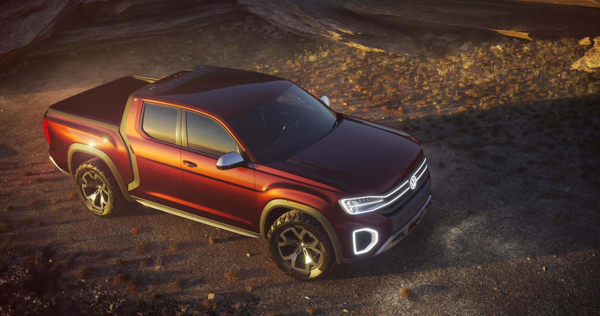 Volkswagen представил новый большой пикап 1