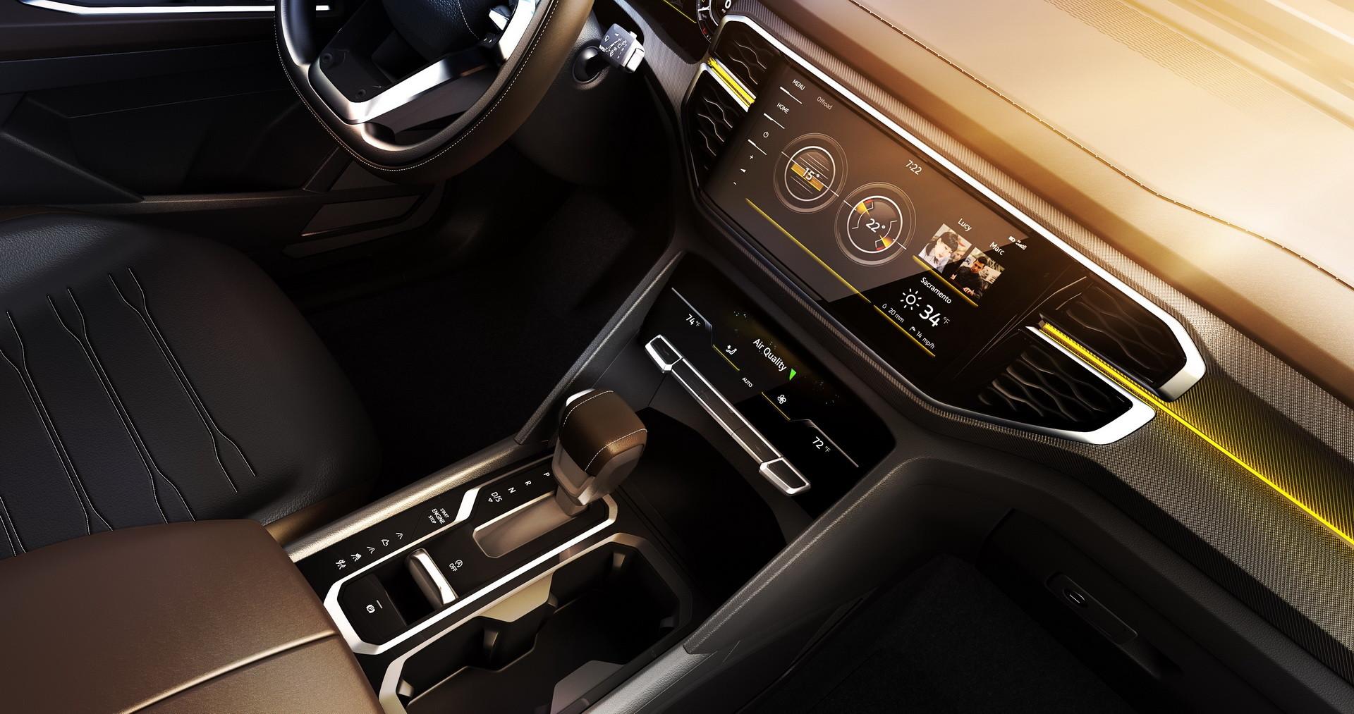 Volkswagen представил новый большой пикап 4