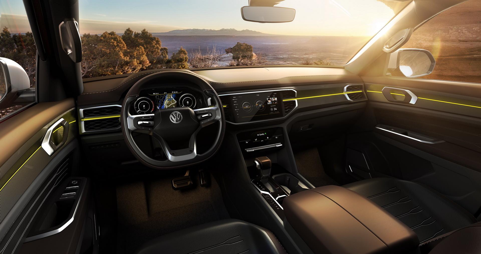 Volkswagen представил новый большой пикап 3