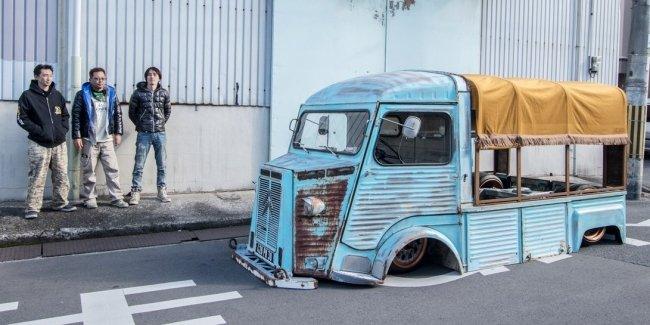 Шокирующий японский взгляд на старый фургон Citroen 1