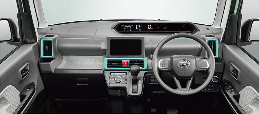 Новый Daihatsu Tanto: салон-трансформер и хитрый вариатор 2