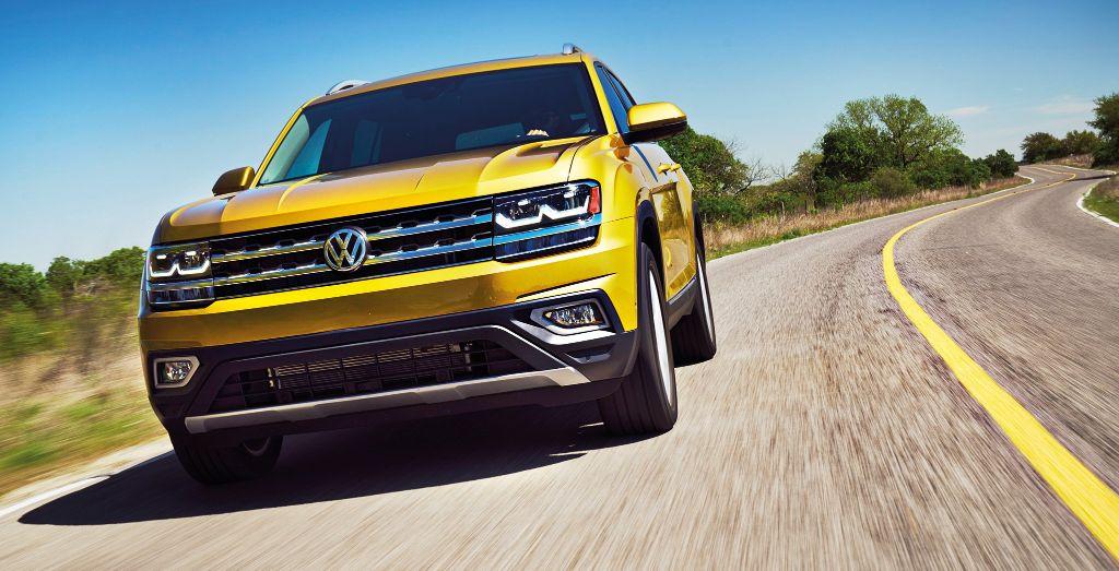 Volkswagen превратит большой кроссовер в новый пикап 1