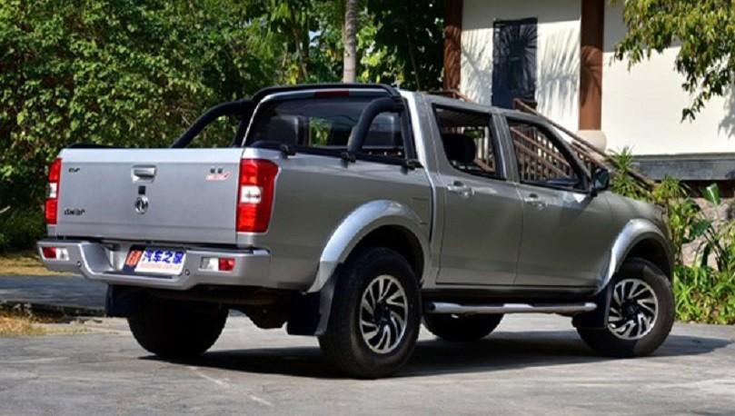 Обновленный пикап на базе Nissan Navara вышел на рынок 2