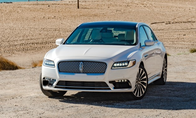 Lincoln Continental может получить «суицидальные» двери 1